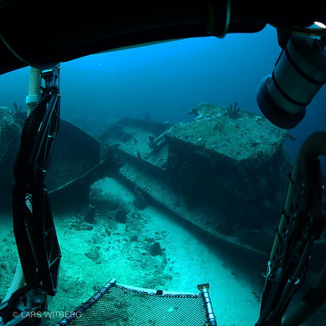 Shipwrecks at 200 feet taken from a research submarine in Curacao. Great experience!! Read the article on: reflections.no  #adventure #shipwreck #scuba #photography #photo #underwater #underwaterphoto #caribbean #curacao