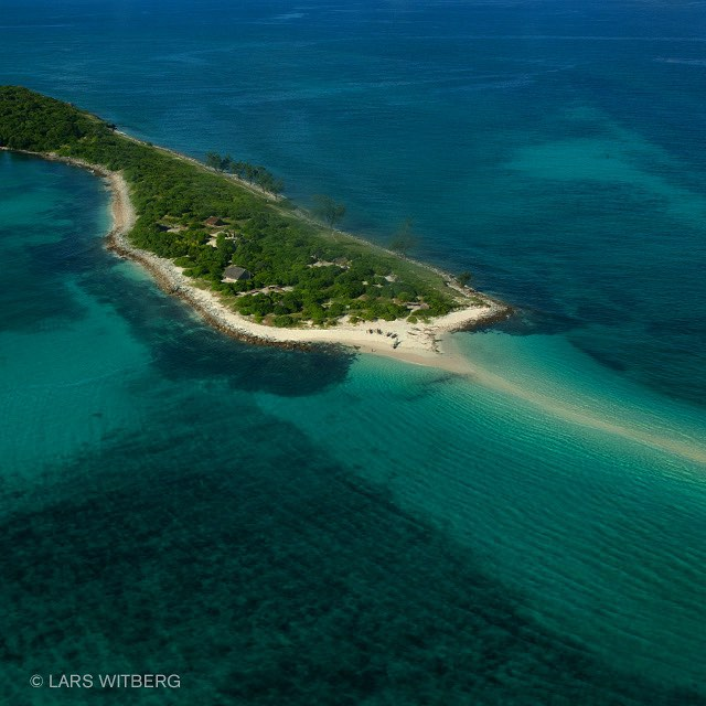Paradise! Quirimbas Archipelago, Mozambique. Picture taken from small airplane over Mejumbe Island. Looking down at the surrounding reefs triggers a divers heart. Can't wait to land.  #paradise #Quirimbas #mozambique #diving #islands #tropicislands #photography #TravelAwesome #travel