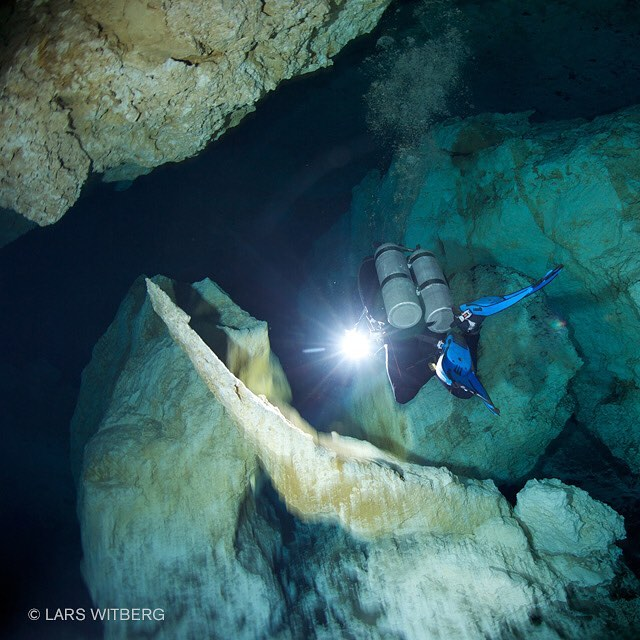 The shallow cave systems on the Yucatan Peninsula is idealhellip